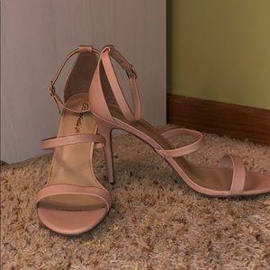 Women's three strap heels